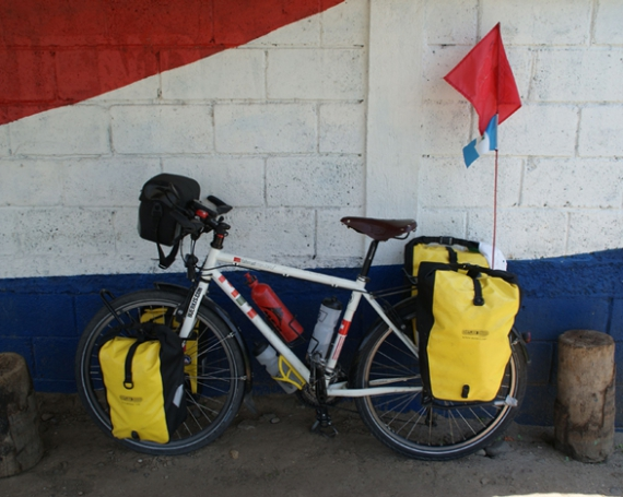 Mit dem Fahrrad von Mexiko nach Ecuador