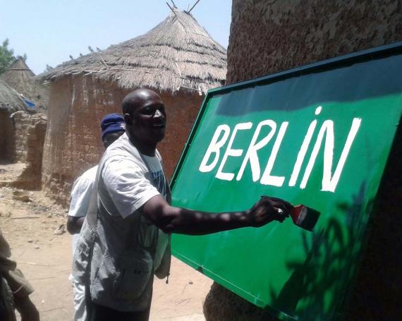 Weltweit bekennen Menschen: Ich bin ein Berliner!