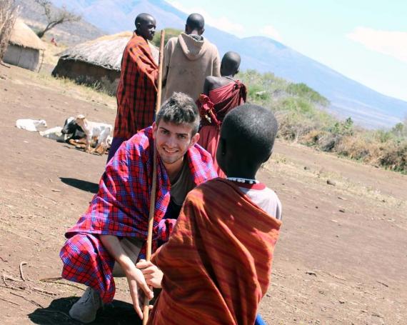 Dario Gysel – Der weisse Massai