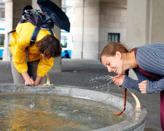 Humans of Zurich –  10 Fountain Portraits