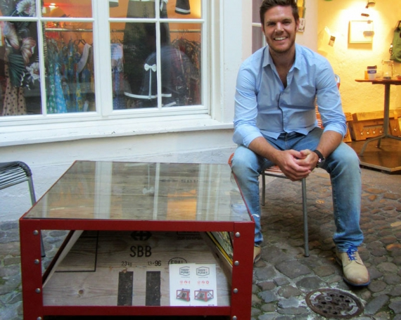 South African Artist Upcycles Swiss Cargo Boxes