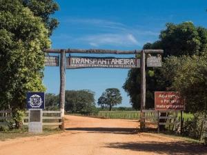 Eingang zum Pantanal