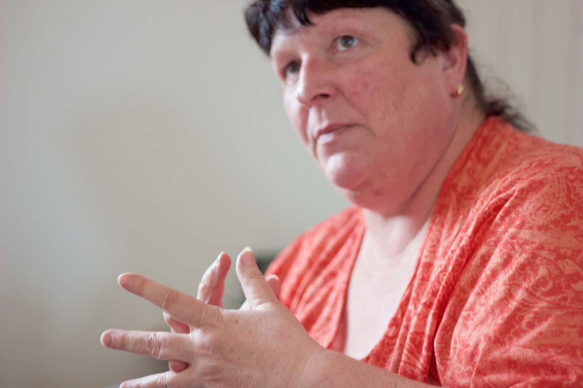 Rheuma Betroffene erzaehlt Susanne Schib - 05