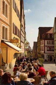 Café in der Alstadt Rothenburg