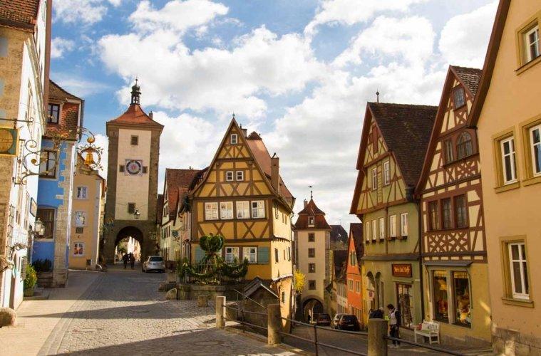 Fachwerkhäuser Rothenburg