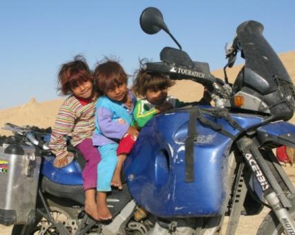 Thierry Wilhelm – Mit dem Motorrad durch den Orient