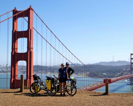 Auf Fahrrädern durch Nordamerika