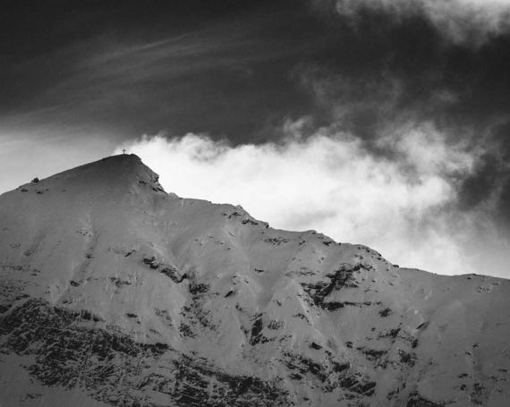 Saas-Fee – Reduzierte Bergwelt