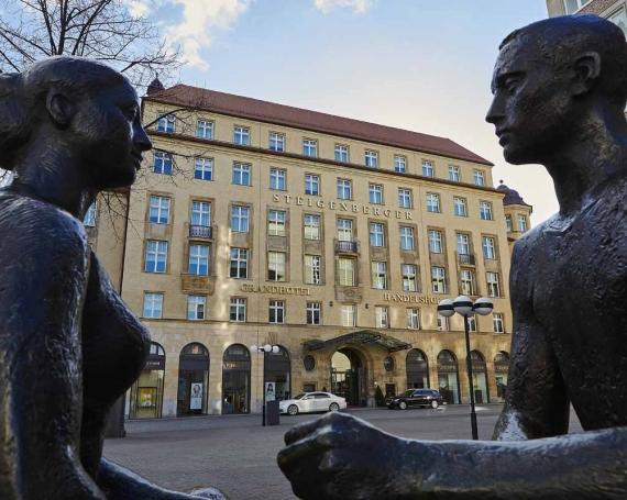 Das Steigenberger Grandhotel Handelshof in Leipzig