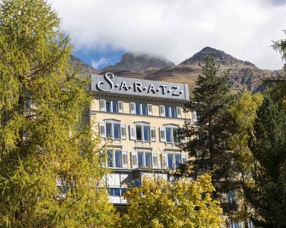 10 Gründe im Hotel Saratz abzusteigen