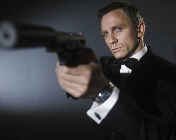Im Bett von James Bond