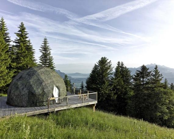 Charmante und einzigartige Unterkünfte in der Schweiz