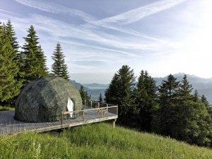 Charmante Unterkünfte Schweiz: Whitepod