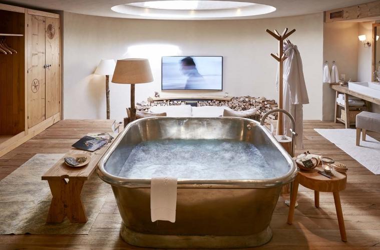 Guarda Val Hotel Lenzerheide charmant Stailetta_privater_Wellnessbereich