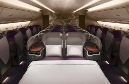 Business Class Doppelsitz Singapore Airlines