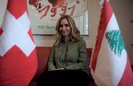 Schwerizer Botschafterin Libanon Monika Schmutz 1