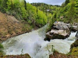 Saut du Doubs Schweizer Seite
