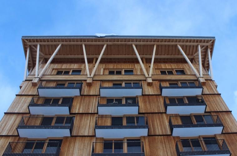 Hotel Radisson Blu von Aussen